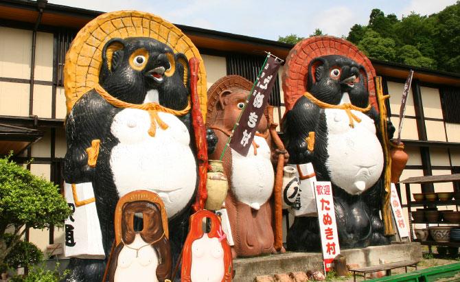 日本一の大狸